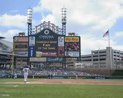 Comerica Park Map Comerica Park Stadium Shots Photos And Images Getty Images