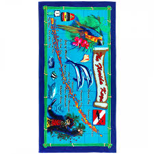 Map Florida Keys by Florida Keys Map Shop By Size Beach Towel