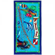 Keys Florida Map by Florida Keys Map Shop By Size Beach Towel