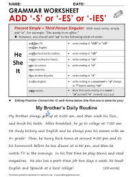 best 25 present simpl ideas on pinterest present tense english
