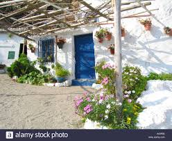 mediterranean beach cottage stock photo royalty free image