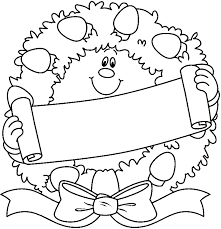 christmas tree coloring picture coloring pages