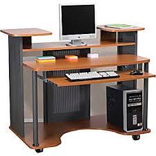 Staples Computer Desks For Home Staples Eclipse Workstation Cherry Furniture Pinterest
