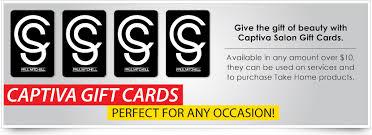 salon gift cards captiva salon gift cards milford wallingford connecticut
