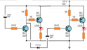 symbols good looking astable multivibrator using timer circuit
