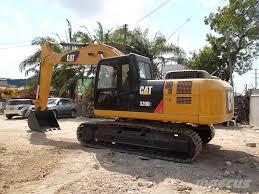 used caterpillar 320 d crawler excavators year 2013 for sale