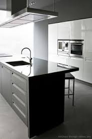 Pictures Of Modern Kitchen Designs Modern Gray Kitchen Cabinets With White Laminate Top Splash Of