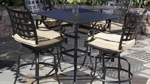 wrought iron patio table and chairs patio furniture high table bistro table and chairs tall patio set