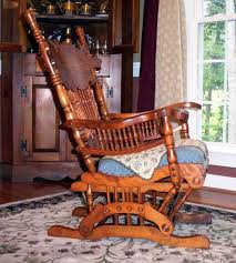 Antique Pressed Back Rocking Chair Restoring The U0027rock U0027 In Antique Platform Rockers Worthpoint