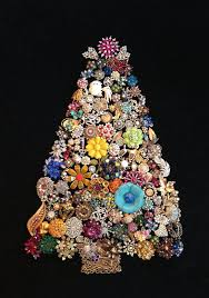 Christmas Tree Buy Online - 75 best vintage jewelry christmas trees by sunnydayvintage com