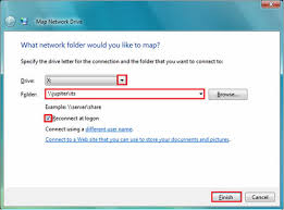 use map drive map a drive in windows 7 information technology services