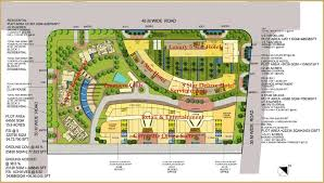 floor plan of a shopping mall overview logix la premiere at sec 124 noida expressway