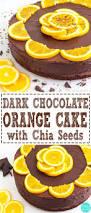 dark chocolate orange cake with chia seeds recipe video