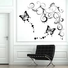 butterfly vine wall stickers by parkins interiors butterfly vine wall stickers