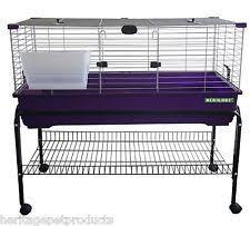 Stackable Rabbit Hutches Indoor Rabbit Cages Ebay