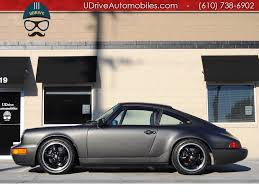 porsche slate gray metallic 1990 porsche 911 carrera