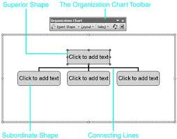 about word u0027s organization chart feature chapter 15 visualizing