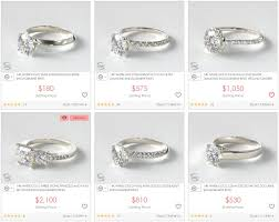 how much are engagement rings 18k vs 14k white gold engagement ring sparta rings