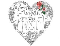 just what i squeeze in the lord looketh on the heart
