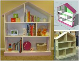 Kids Dollhouse Bookcase How To Diy Dollhouse Bookcase