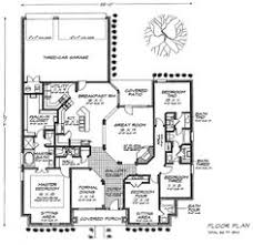 traditional style house plan 4 beds 2 5 baths 2500 sq ft plan