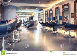 modern hair salon stock photo image of indoors fashionable