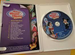 mickey u0027s house of mouse villains dvd 2002 rare halloween