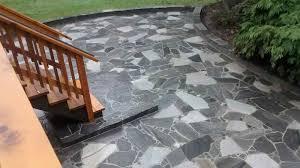 Dry Laid Flagstone Patio Patio Stone And Flagstone