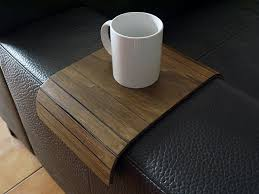 couch arm coffee table wood couch arm table sofa armrest table sofa table sofa arm table