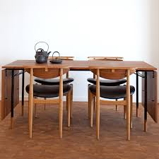 finn juhl nyhavn dining table 1950 and bo53 chairs 1953 in