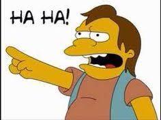 Nelson Meme - nelson ha ha meme the simpsons pinterest nelson f c meme