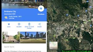 Satellite View Map How To Get Satellite View In Google Maps Youtube