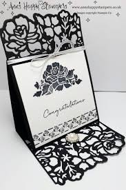 Folded Invitation Card Best 20 Easel Cards Ideas On Pinterest Folded Cards Acetate