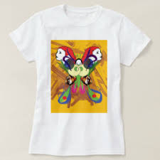 psychedelic butterfly t shirts shirt designs zazzle