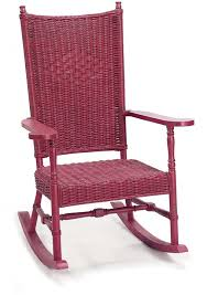 Resin Wicker Rocking Chair 7506 Hamptons Wicker Rocking Chair