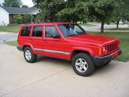 bmw jeep red my big red jeep 2001 jeep cherokee specs photos modification