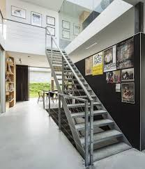 wonderful industrial stairs design staircase wall decorating ideas