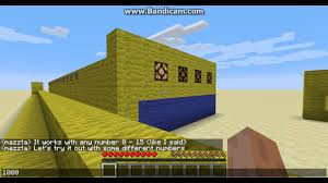 4 bit decimal to binary encoder in minecraft youtube