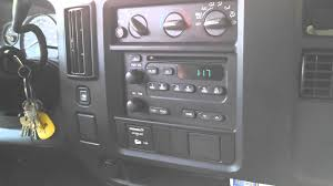 setting the clock in a 2004 chevy express van youtube
