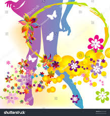 flower butterfly abstract background stock vector 72502156