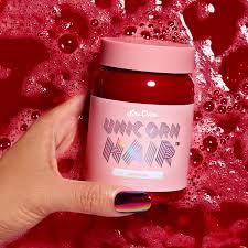 valentine bright red vegan hair dye lime crime
