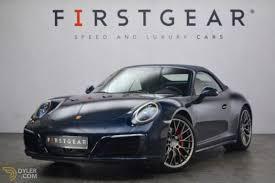 blue porsche 2016 2016 porsche 911 4s cabriolet roadster for sale 1305 dyler