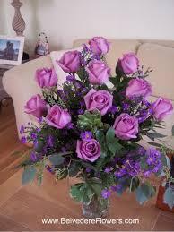 Lavender Roses Dozen Lavender Roses Belvedere Flowers Of Havertown Pa