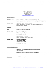 resume for college applications templates for resumes good college application high student resumes for resume