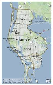 Florida Congressional Districts Map by Democrats Likely To Bank Trio Of Gop House Seats