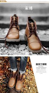 waterproof leather motorcycle boots winter men boots warm genuine leather retro boots with fur