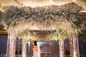 wedding flowers lewis wedding ceremony rainbow room flowers by lewis miller design