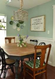 stained table top painted legs refinished dining table with stripped and stained wood top and