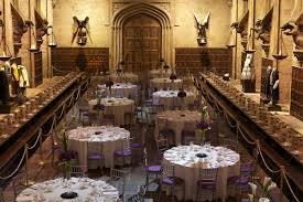 Hogwarts Dining Hall by Harry Potter Studios Eventspiration