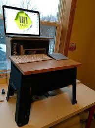 Fitbit Standing Desk My Diy Standing Desk